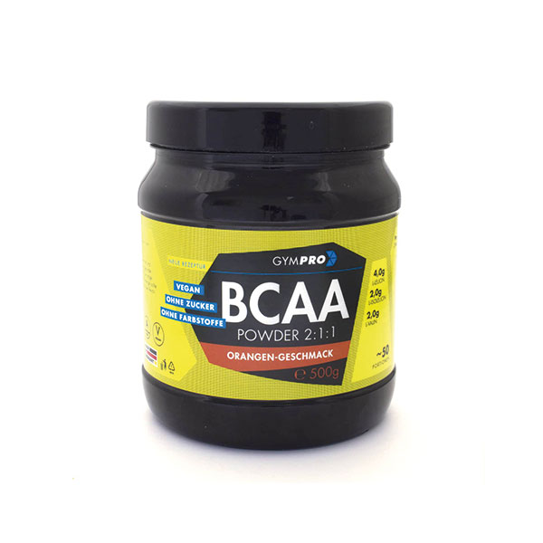 Gympro Bcaa 211 Mit Geschmack 500g Dose Perfect Body 24