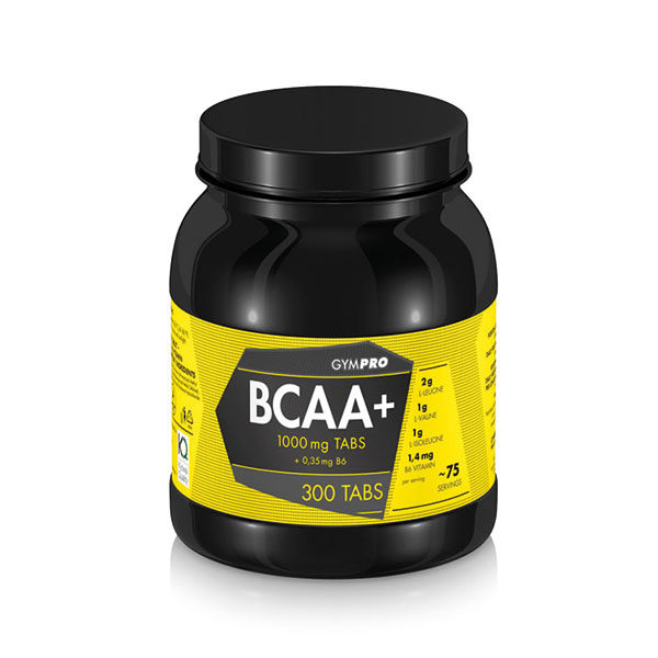 Gympro Bcaa 1000mg 035mg 300 Tabletten Perfect Body 24